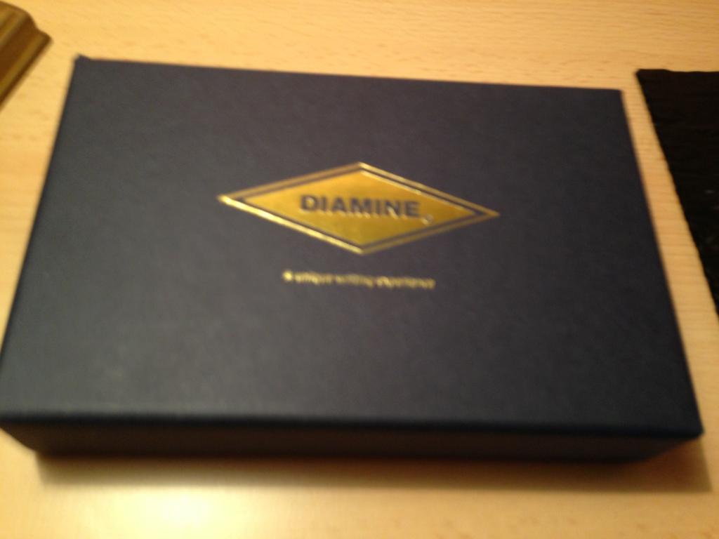 Diamine Music Set Verpackung