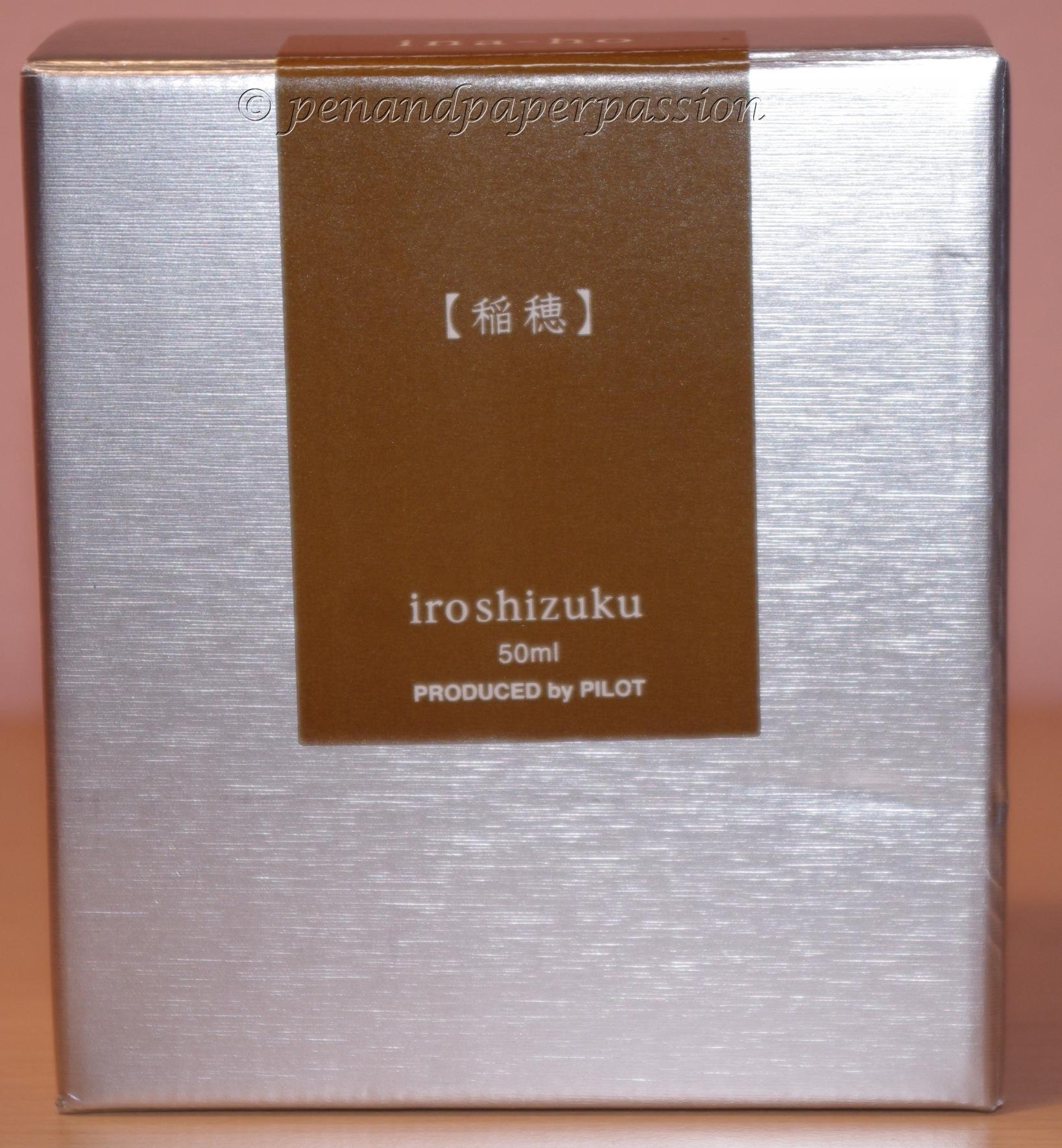 Iroshizuku ina-ho Verpackung 1