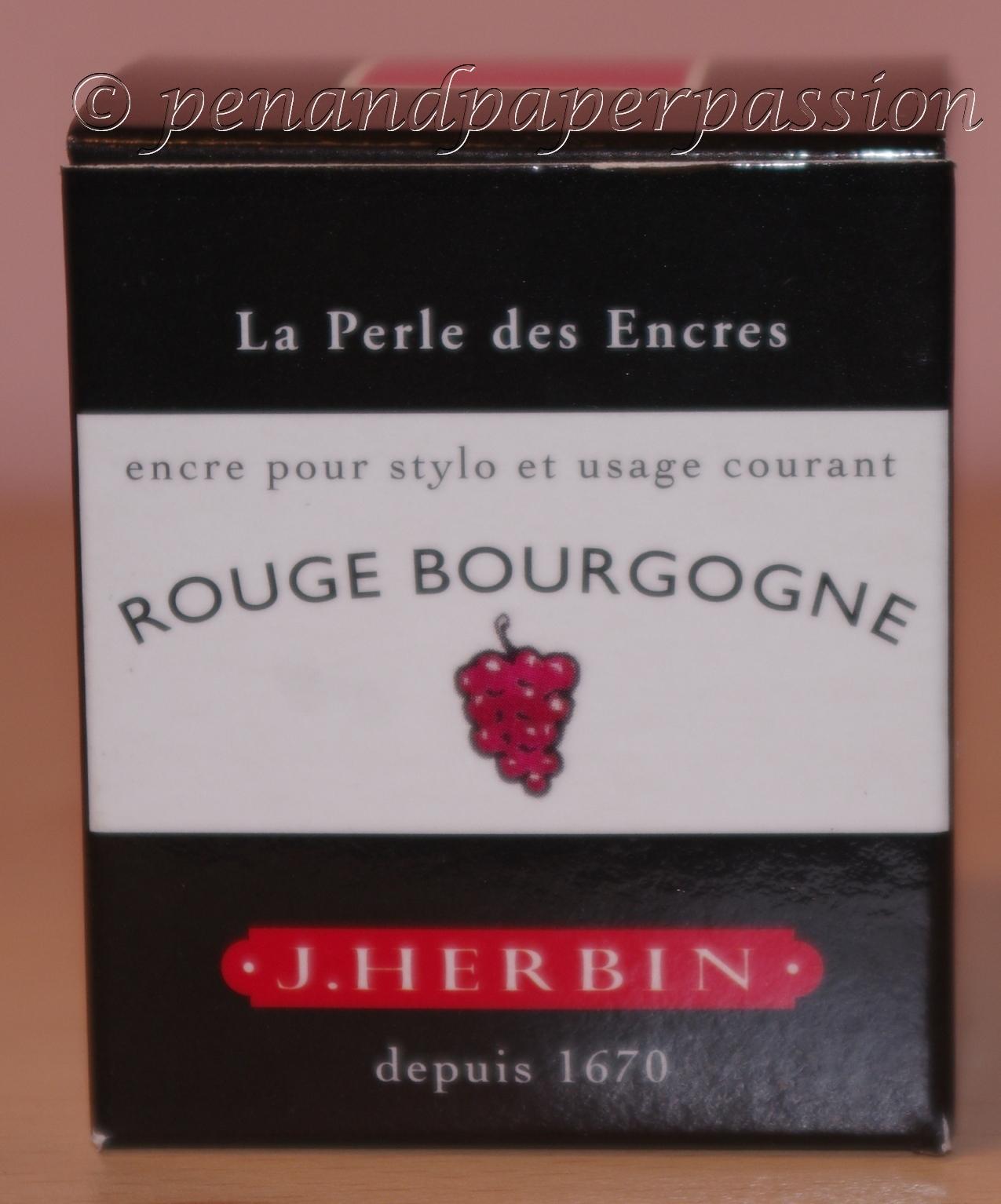 J. Herbin Rouge Bourgogne Verpackung