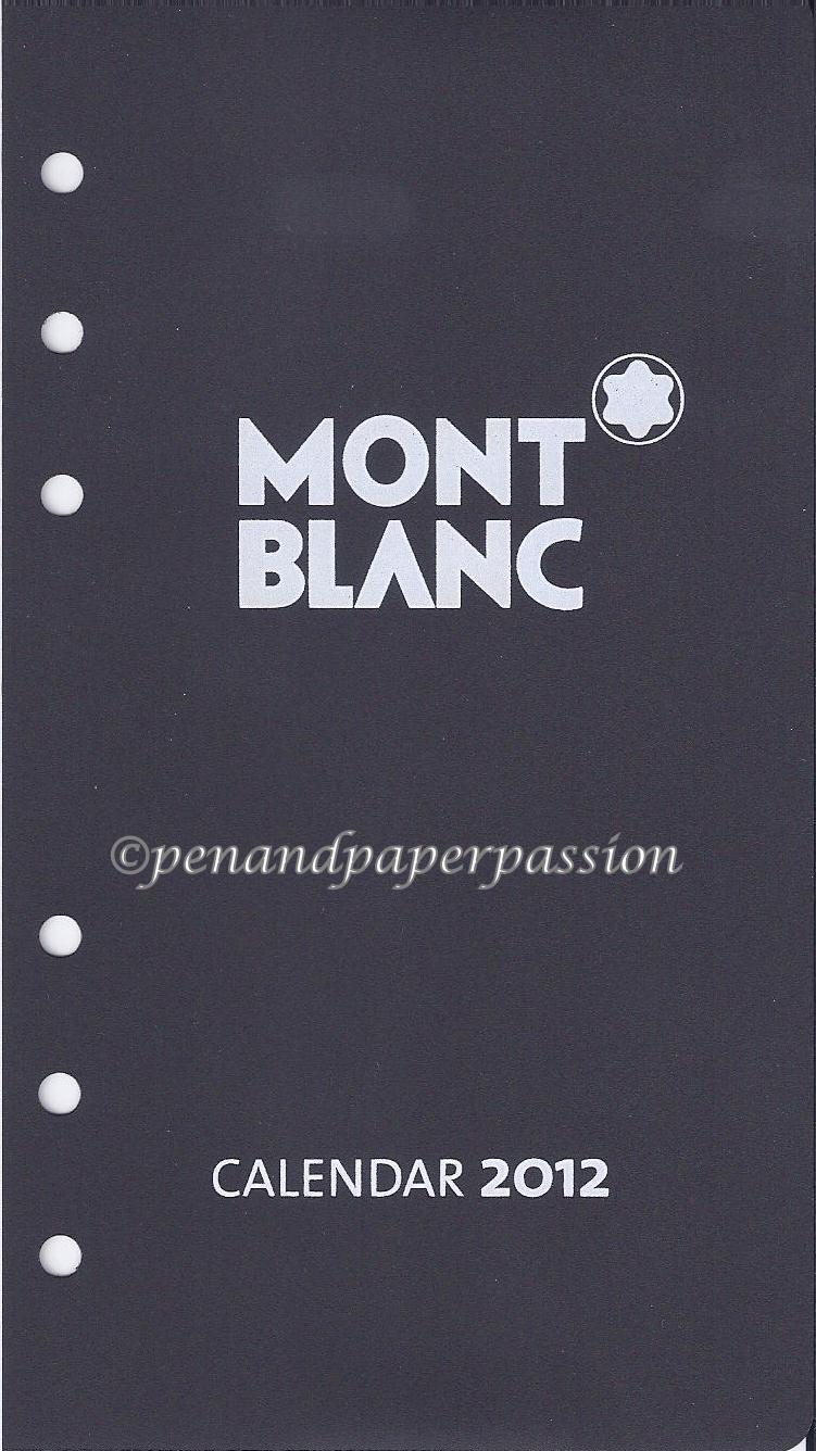 Montblanc Deckblatt