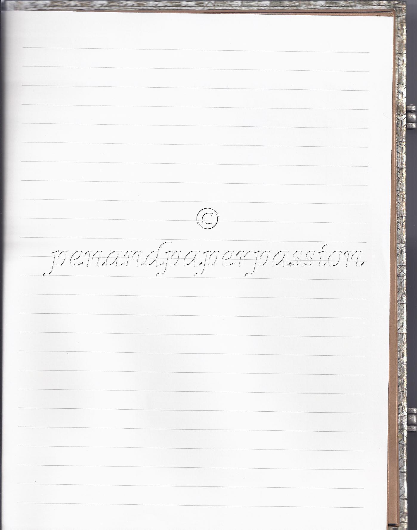 Paperblanks liniert A5 hinten