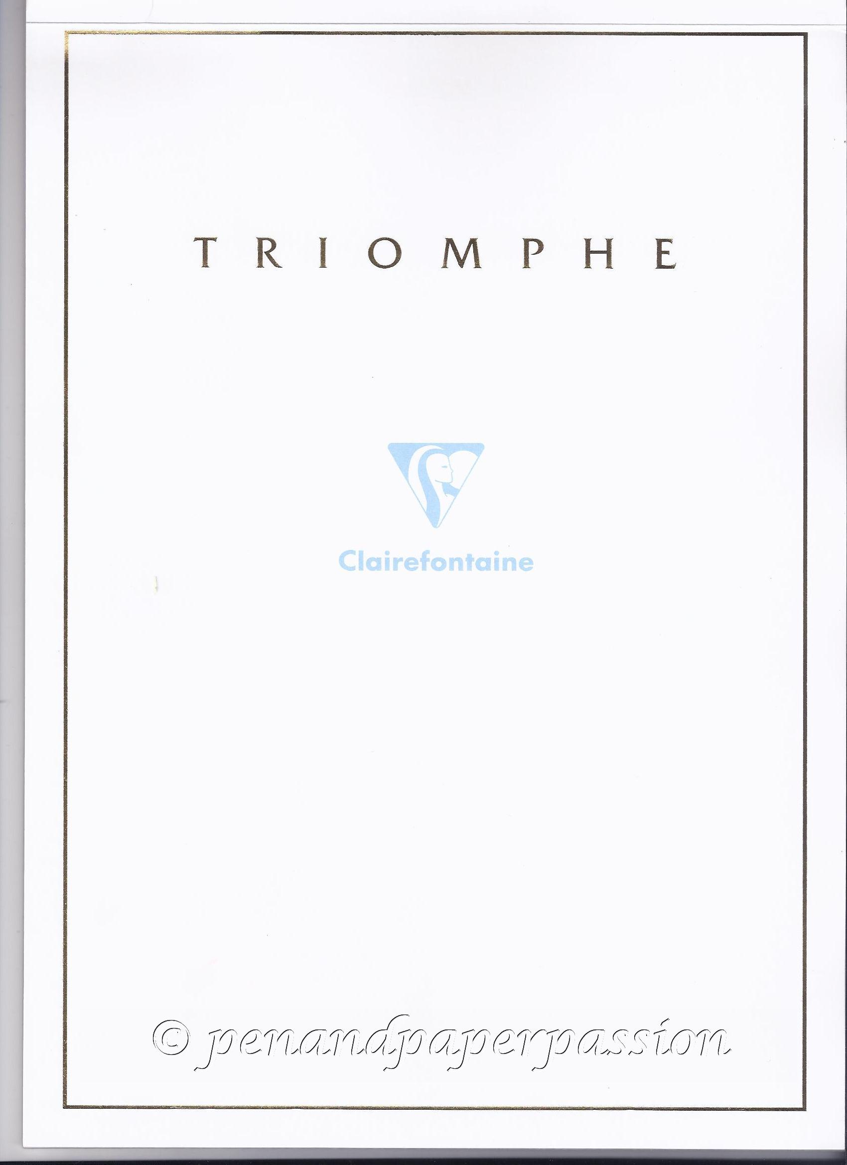 Clairefontaine Triomphe 90g Umschlag