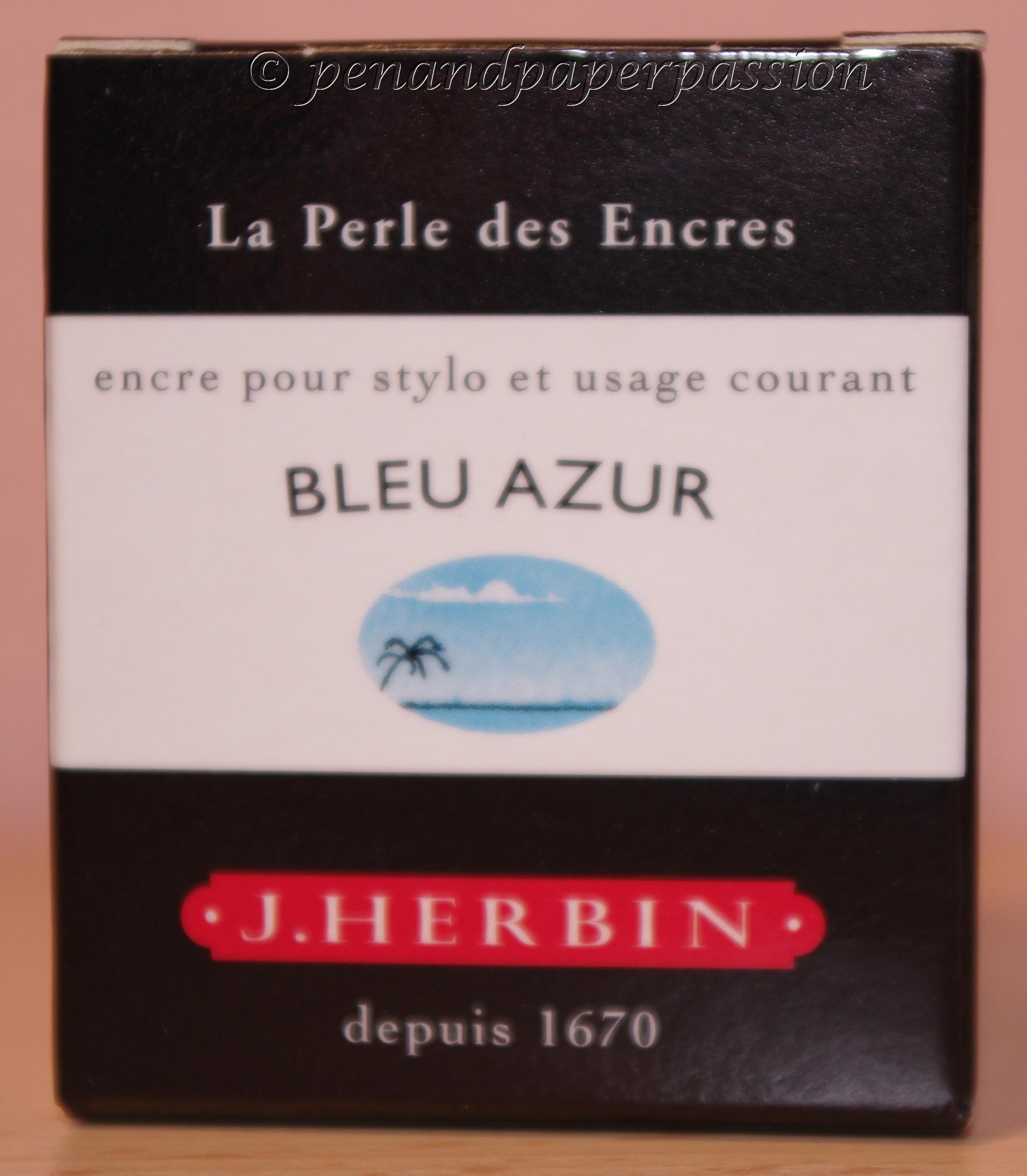 Foto J. Herbin Bleu Azur Verpackung