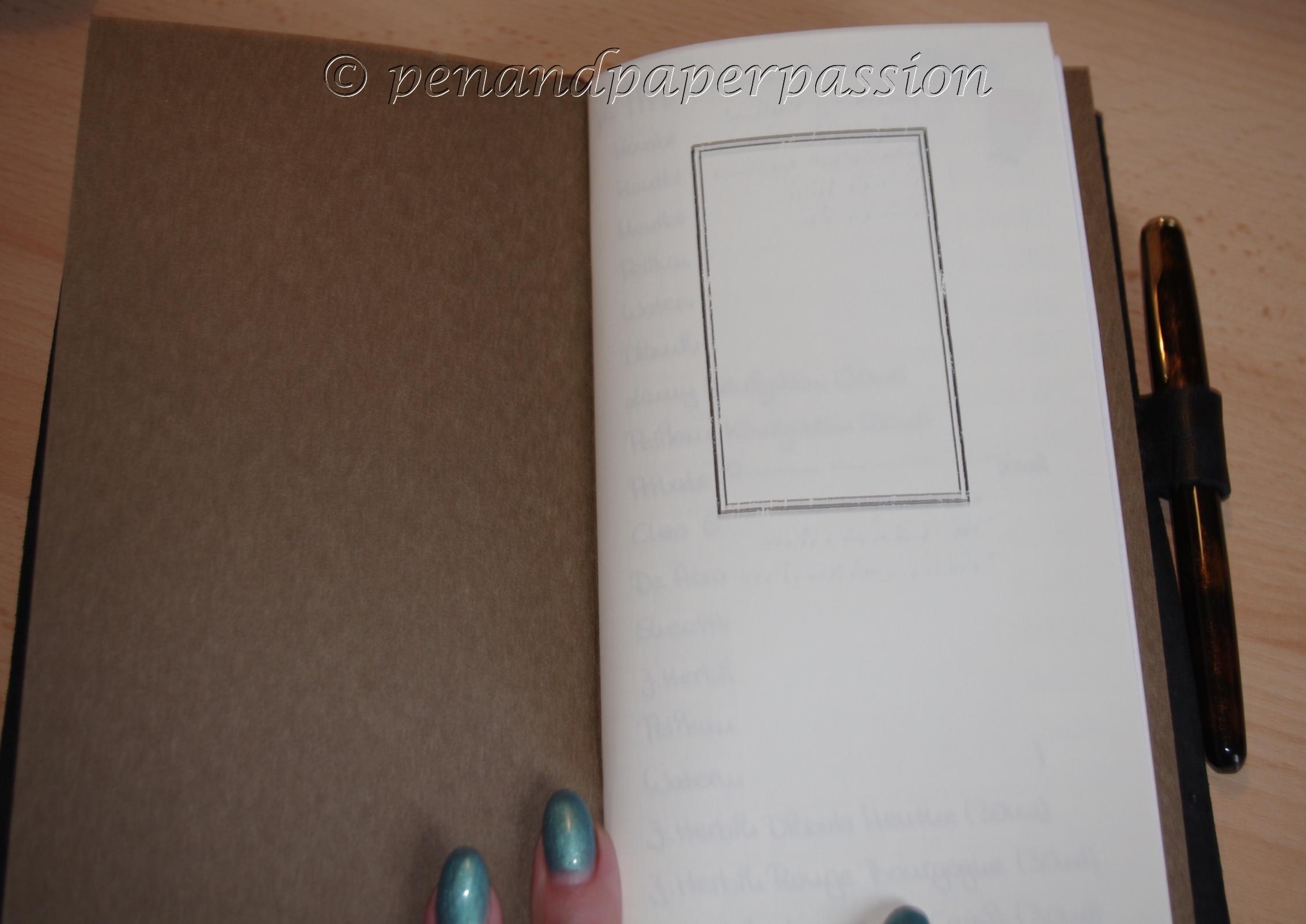 Midori Travelers Notebook 16