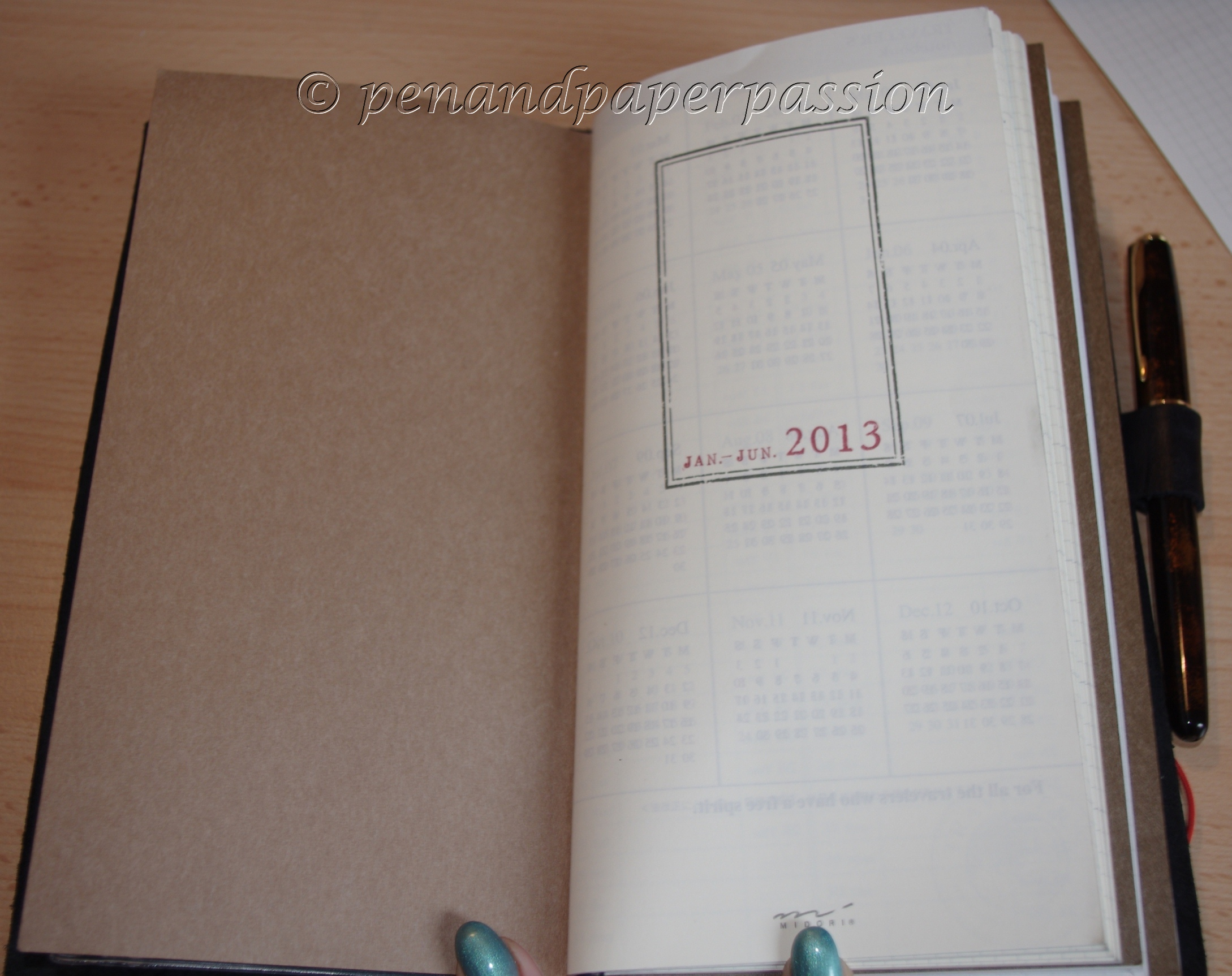 Midori Travelers Notebook 7