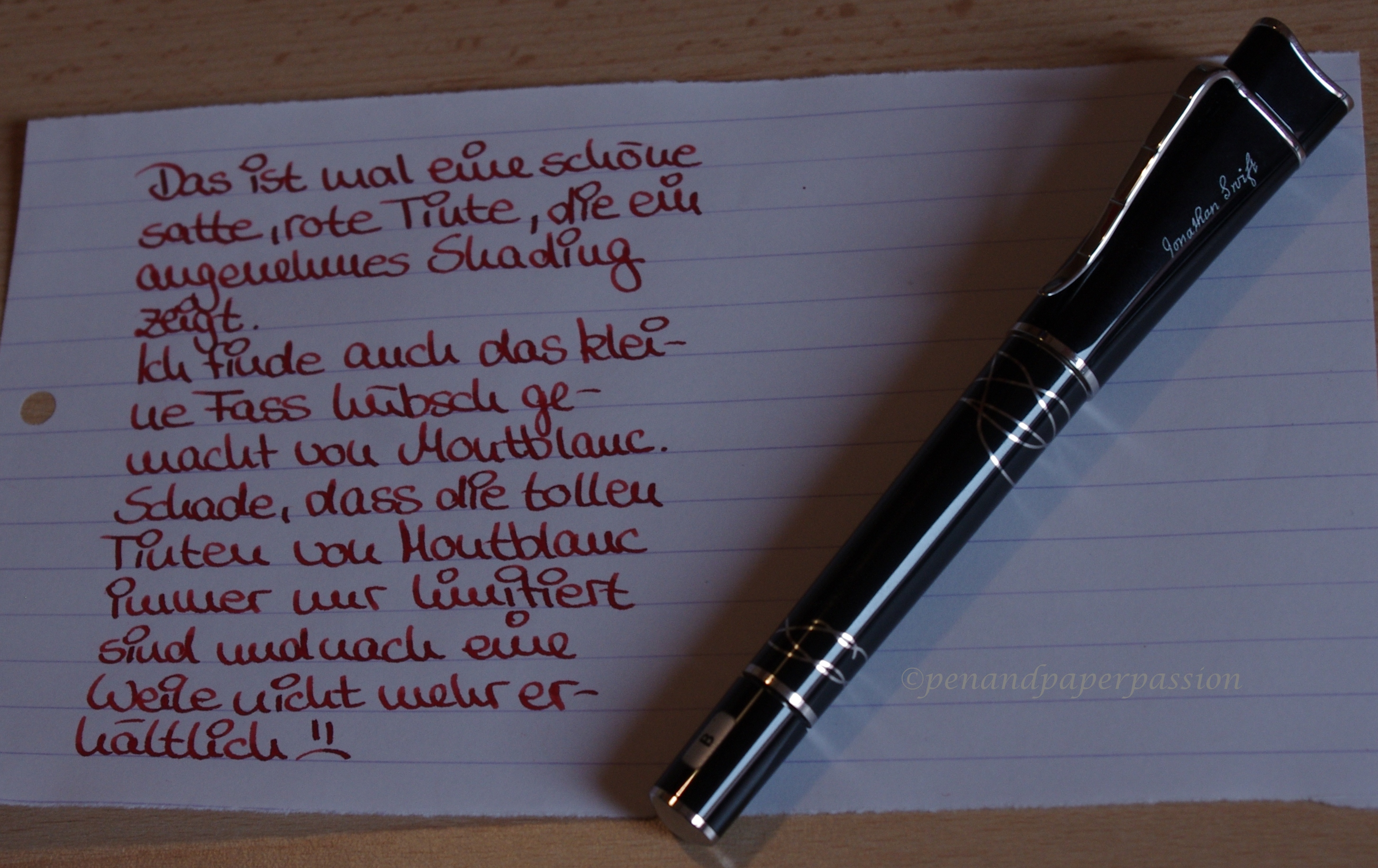 Montblanc Ink of Love 1