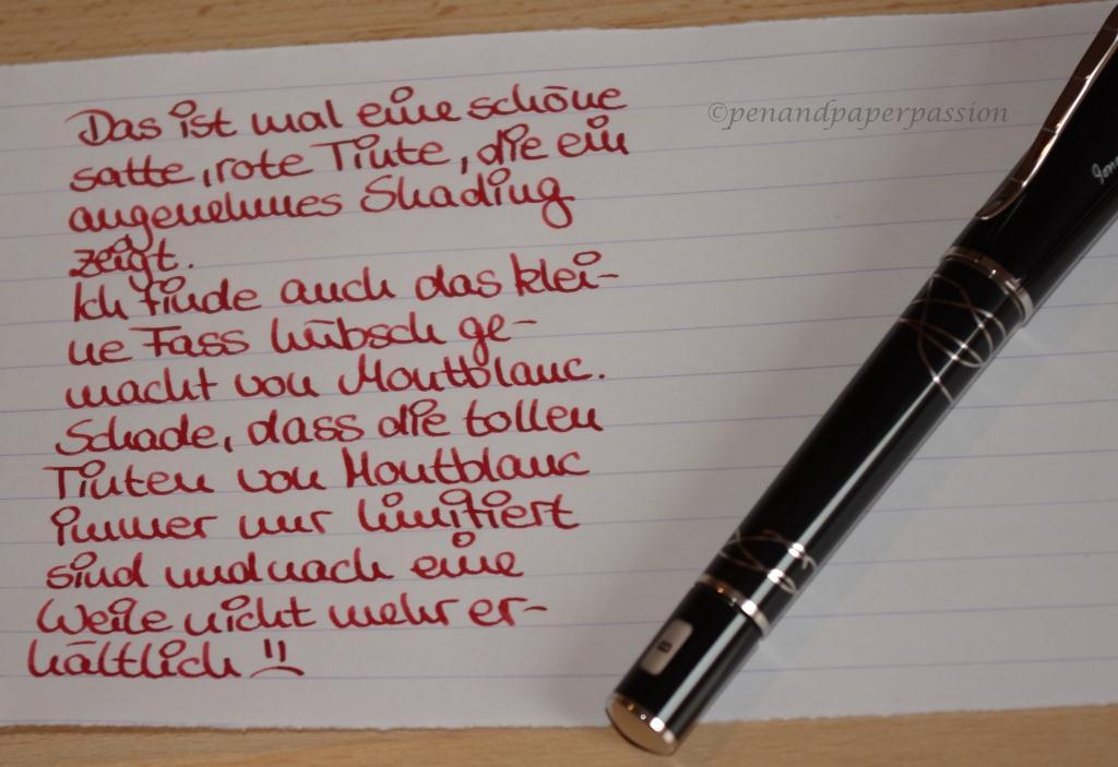 Montblanc Ink of Love 2