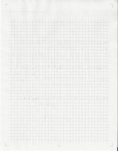 Paperscreen Pad Testmuster Litteralis Rückseite