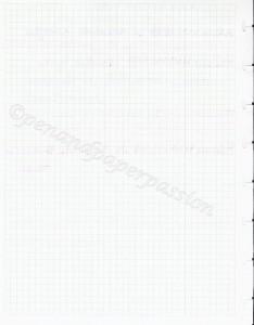 Atoma kariertes Papier hinten