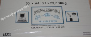 Crown Mill Vellum 1