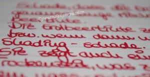 De Atramentis Erdbeertinte 6