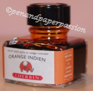 J. Herbin Orange Indien Fass
