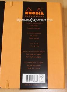 Rhodia Webnotebook Etikett