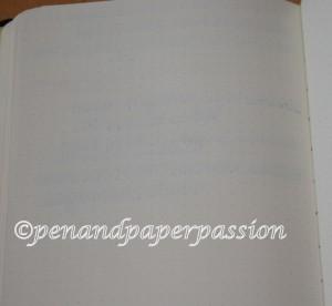 Rhodia Webnotebook Rückseite Schreibprobe