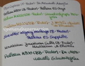 Rhodia Webnotebook Schreibprobe 2