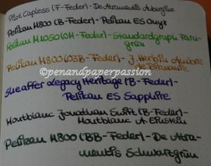 Rhodia Webnotebook Schreibprobe