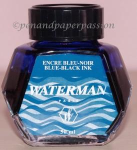 Waterman Blau-Schwarz Fass