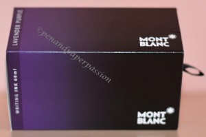 Montblanc Lavender Purple Verpackung
