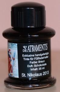DeAtramentis St. Nikolaus 2013 Fass 1