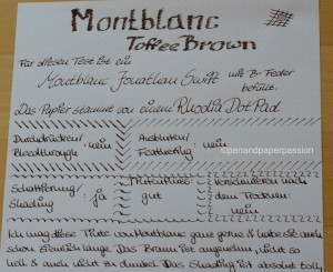 Montblanc Toffee Brown 2