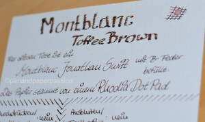 Montblanc Toffee Brown 4