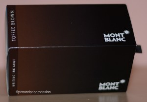 Montblanc Toffee Brown Verpackung